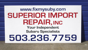 Superior Import Repair, You're Suby Specialist